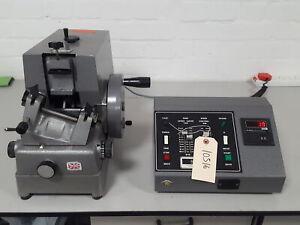 Brillante 5030 B3772 Giratorio Microtomo Con / Motor Controlador Lab