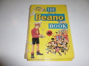 THE BEANO BOOK Comic Annual - Year 1967 - UK Comic Annual