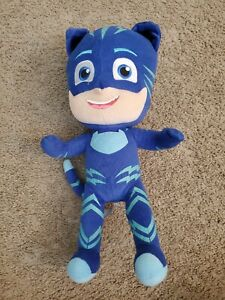 "PJ Masks Catboy 14"" Stuffed Plush Lights Up, Talks and Sings Plush Blue Doll"