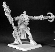 DORELLA KREEG OGRE SHAMAN - PATHFINDER REAPER miniature figurine rpg 60027