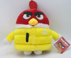 Angry Birds Film Plüschfigur RED 25 cm, Plüschtier Jacke gelb