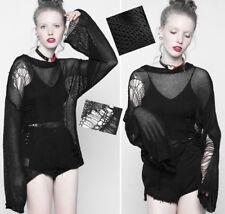 Pull haut loose destroy gothique punk lolita fashion déchiré vintage PunkRave