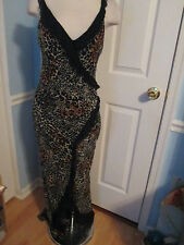 cache leopard dress 8 new  read description reg.248                          #1
