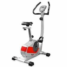 We R Sports S3000 Premium Exercise Bike in Silver & Red
