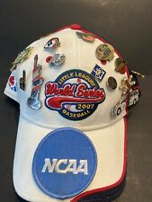 "BASEBALL LITTLE LEAGUE WORLD SERIES FANS HAT W/20 PINS INCLUDING ""SLIDING HONDA"""