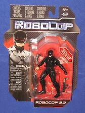 "Robocop 3.0 Action Figure 4""  MOC 2014 Movie Jada Toys MGM Black"