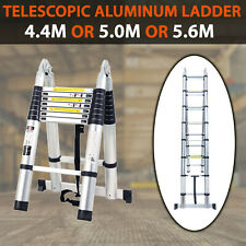 4.4M 5M 5.6M Multipurpose Telescopic Folding Ladder Aluminium Alloy Extension