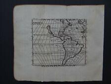 1704 Atlas MORDEN map  AMERICA - CALIFORNIA ISLAND - North & South America