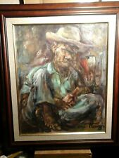ERNST LOUIZOR - MASTER HAITIAN LISTED ARTIST - OIL/CANVAS - NEW TO MARKET