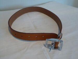 Ancol Light Brown Heritage Leather Dog Collar 62cm x 25cm