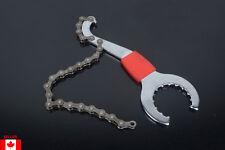 Bottom Bike Chain Whip Bracket Freewheel Wrench Convenient Remover Repair Tool