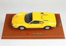 Ferrari Dino 246 GT TIPO 607L 1969 giallo 1/18 P18150D BBR MODELS