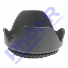 Phot-R 58mm Flower Petal Screw-On Lens Hood for Canon Nikon Sony Olympus Pentax