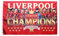 Liverpool Champions Flag Medium 3ft x 2.5ft