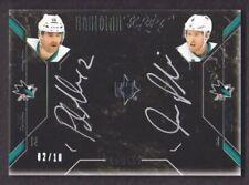 Cartes de hockey sur glace Upper Deck San Jose Sharks