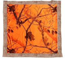 Realtree Blaze Orange Camo Baby Blanket, Infant Camouflage Hunter's