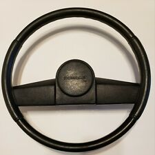 1973-1987 CHEVY GMC TRUCK JIMMY BLAZER SUBURBAN S10  BLACK STEERING WHEEL USED