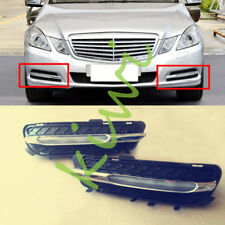 2x For Mercedes W212 E250 E300 E350 11-12 LED Daytime Running Light Fog Lamp DRL