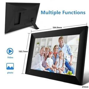 10.1 Inch Digital Picture Frame WiFi Share Photo Video HD Touch Screen with APP