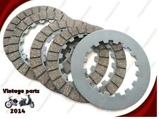 NORTON DOMINATOR CLUTCH PLATES SET OF 5 ES  (LOWEST PRICE)