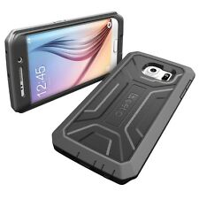 Poetic Revolution Black Case【Armor Shockproof Hybrid】For Samsung Galaxy S6 Edge