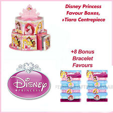 Disney Princess Birthday Party Supplies 8 Favours 8 Loot Boxes & Centrepiece