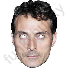 Rufus Sewell Celebrity English Actor Card Mask - All Our Masks Are Pre-Cut!