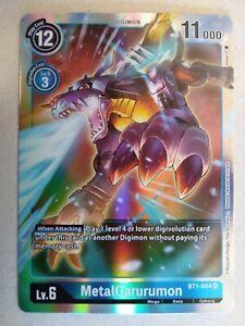 Digimon TCG - Special Booster Ver 1.0 - MetalGarurumon - Super Rare - BT1-044