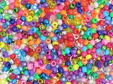Perles De Poney 1000pk Métal/perlé/Paillettes/Clair 4 en 1 Assortiment