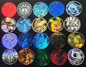 Pokemon Flip Coins TCG Plastic/Metal - Multibuy