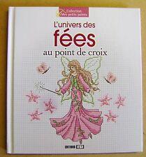 Livre Point de croix l'univers des fées 29 modèles  /U11