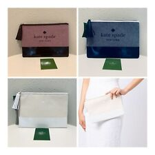 Kate Spade Large Tassel Clutch Pouch/2 Colors/NWT