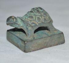 China Old Tortoise Seal Ancient Qin Han Kingdom Military Power Symbol Stamp 王平
