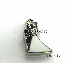 10pcs  Wedding Floating charms For Glass memory Locket Free shipping Fc1007