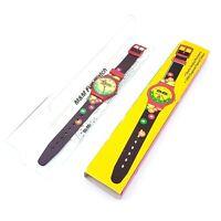 Vintage 1994 M & M Candy Collectable Quartz Wrist Watch