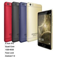 K13 5.0 pouces 8 Go Android 7.0 Smartphone portable débloqué 3G   Double SIM GSM