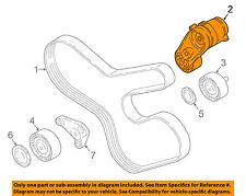 BMW OEM 08-16 X6-Serpentine Drive Fan Belt Tensioner 11288604266