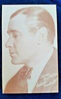 Herbert Marshall Arcade Exhibit Card 1940's MOVIE CARD  MADE IN USA