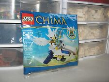 "LEGO LEGENDS OF CHIMA ""EWAR'S ACRO FIGHTER""   # 30250    NEW"
