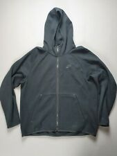 NIKE MENS TECH FLEECE JACKET HOODIE HOODY - X-LARGE (XL) - BLACK