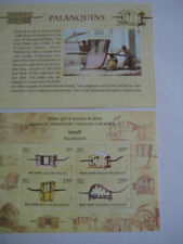 2017 India Miniature Sheet on Different types of Palanquins - Limited Edition