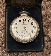 Rr Railroad grade pocket watch Running Vintage Hamilton 992 21 jewel 16s