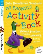 Reading Oxford Learn Phonetics Julia Donaldson Childrens Activity Book Kids How