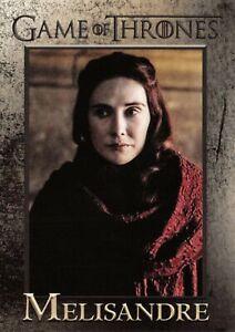 MELISANDRE (Carice van Houten) / Game Thrones Season 8 (2020) BASE Card #35
