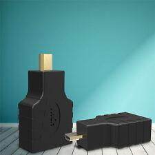 HDMI Adapter Micro HDMI Stecker auf HDMI Buchse High Speed Ethernet 3D Vergoldet