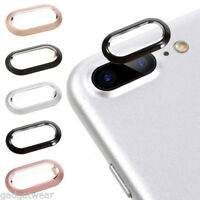 For iPhone X 7 8 Rear Back Camera Protector Protective Lens Case Ring Cover BW