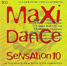 MAXI DANCE SENSATION 10 - VARIOUS ARTISTS / 2 CD-SET (BMG ARIOLA 1993)
