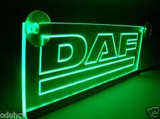 24V Green LED Cabin Interior Light Plate for DAF Truck Neon Illuminating Sign