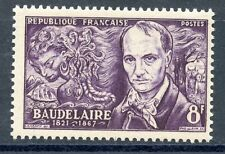 stamp / TIMBRE FRANCE NEUF N° 908 ** BAUDELAIRE
