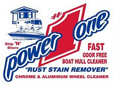 Power One Odor Free Boat Hull Cleaner-Rust Stain QUART